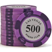 Фишки для покера Las Vegas, 14 г, номинал 500