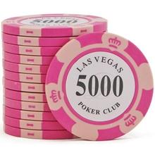 Фишки для покера Las Vegas, 14 г, номинал 5000