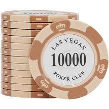 Фишки для покера Las Vegas, 14 г, номинал 10000
