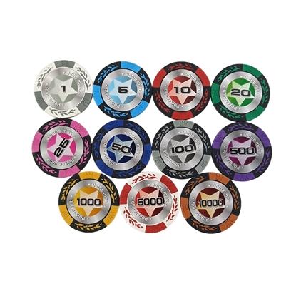 Фишки для покера STARS, 14 г