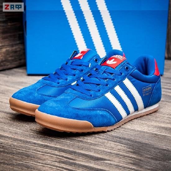 Изображение Мужские кроссовки Adidas DRAGON, синий/белый