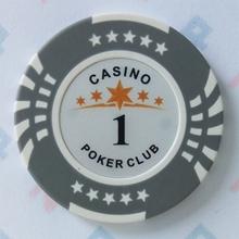 Изображение Фишки для покера CASINO, 14 г, номинал 1
