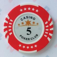 Изображение Фишки для покера CASINO, 14 г, номинал 5