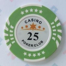 Изображение Фишки для покера CASINO, 14 г, номинал 25