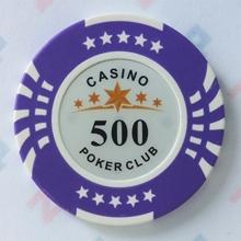 Изображение Фишки для покера CASINO, 14 г, номинал 500