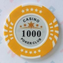 Изображение Фишки для покера CASINO, 14 г, номинал 1000