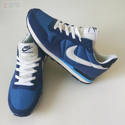 Мужские кроссовки Nike Air Runner, синий-белый (реплика)
