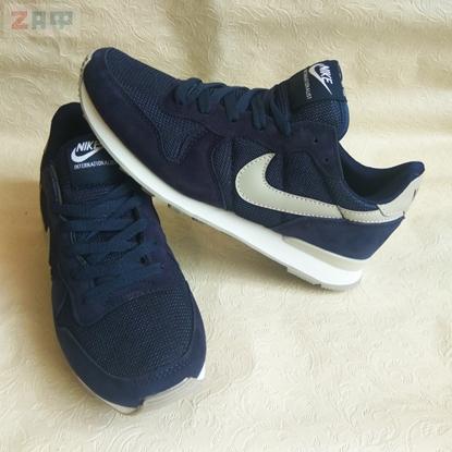 Мужские кроссовки Nike Air Runner, тёмно-синий/белый (реплика)