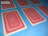 Изображение 100% пластиковые игральные карты, 54 листа, красная рубашка