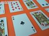 Изображение 100% пластиковые игральные карты, 54 листа, чёрная рубашка