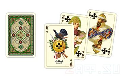 Picture of Игральные карты Русский Стиль, 55 карт, Trefl