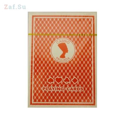 Picture of Карты для покера Casino Pallada, красная рубашка