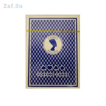 Picture of Карты для покера Casino Pallada, синяя рубашка