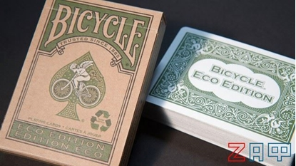Picture of Карты игральные Bicycle Eco Edition Green, зеленые