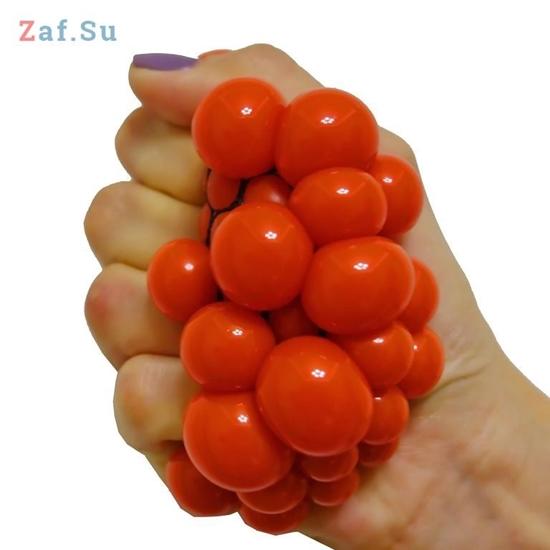 Picture of Стрессбол «Выжимяка» красный