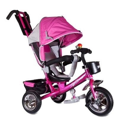 Изображение Велосипед Zilmer «Бронз Люкс» розовый