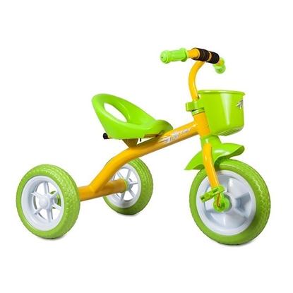 Изображение Велосипед Zilmer «Сильвер Люкс» желтый