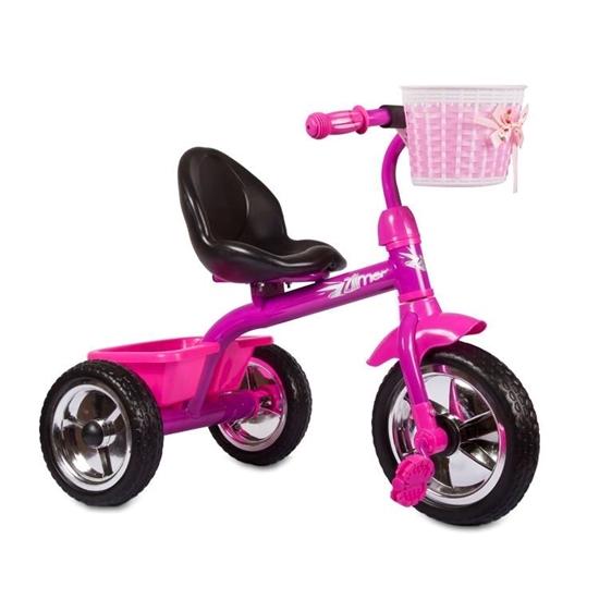 Изображение Велосипед Zilmer «Сильвер Люкс» розовый