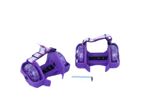 Изображение Ролики-накладки Zilmer «Старт» фиолетовый