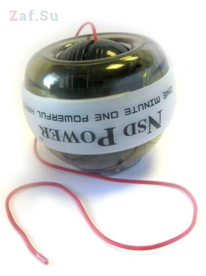 Изображение Кистевой тренажер Powerball Endless Power Neon Pro PB-688LC White, эспандер