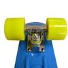 Изображение Скейт Cruiser Board, PRO ABEC 9, синий с желтыми колесами