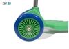 Изображение Самокат детский трехколесный (зелено-фиолетовый) до 50 кг
