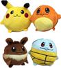Изображение Мягкие игрушки Покемон (10 см) разные виды 4 шт.