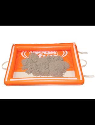 Изображение Надувная песочница с крышкой на липучке