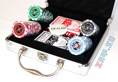 Picture of Покерный набор на 100 фишек, 11,5 грамм.