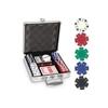 Изображение Набор для покера DICE на 100 фишек (в алюминиевом кейсе)