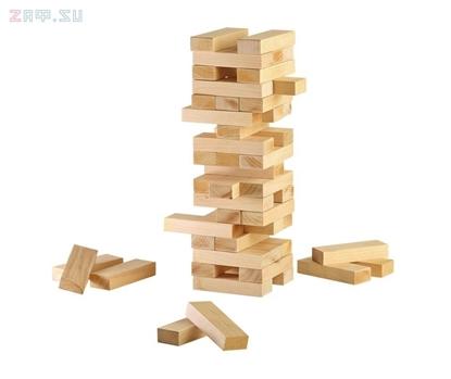Picture of Настольная игра «Последний герой» (известная как Дженга, в деревянной коробке)