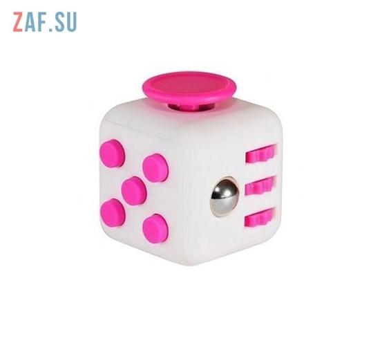 Кубик антистресс Fidget cube (розовый)