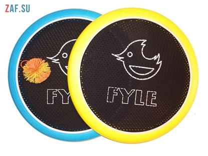 Изображение Набор для игры «FYLE Диск Биг» (Огоспорт), 40 см, желто-синий