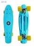 Изображение Скейт Cruiser Board Street Hit Classic Голубой с желтыми колесами