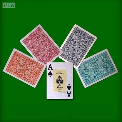 Игральные карты Fournier 2818, 100% пластик