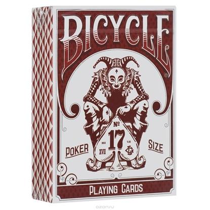 Игральные карты «Ворон», красный цвет, Stockholm17