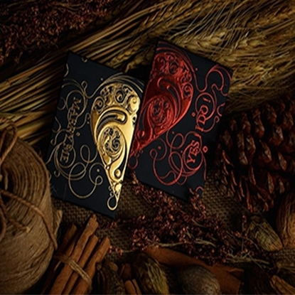 Игральные карты «Любовные обещания», золотой цвет
