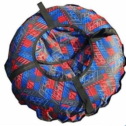 """Санки надувные """"Тюбинг"""" (диаметр 1.1 м, красный)"""