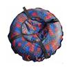 """Санки надувные """"Тюбинг"""" (диаметр 0.9 м, красный цвет),"""