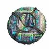 """Санки надувные """"Тюбинг"""" (диаметр 0.9 м, зеленый цвет)"""