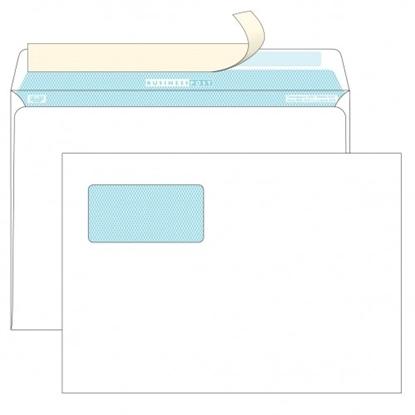Почтовый конверт C4 БИЗНЕССПОСТ, strip, верхнее левое окно (55×110 мм), 1000 шт.