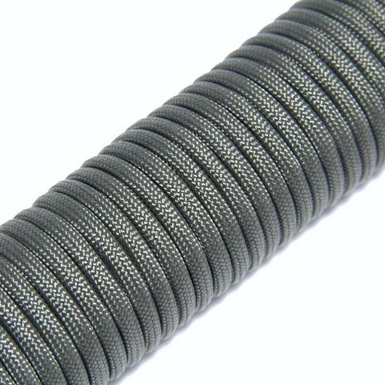 """Паракорд 550,  темно - серый """"Dark gray"""" (4 мм), 30 метров"""