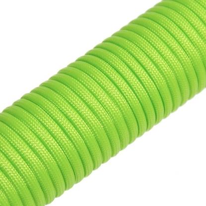 """Паракорд 550,  флуоресцентный зеленый """"Fluorescent green"""" (4 мм), 30 метров"""