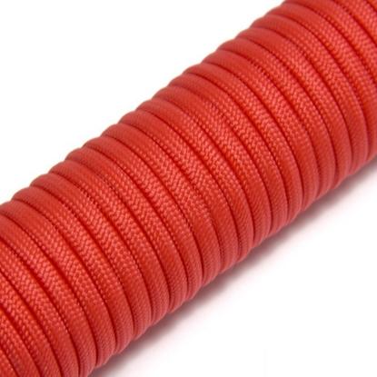 "Паракорд 550, оранжево - красный ""Orange red"" (4 мм), 30 метров"