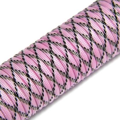 """Паракорд 550,  розовый камуфляж """"Pink camo"""" (4 мм), 30 метров"""