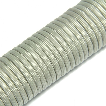 "Паракорд 550,  светло - серый ""Light gray"" (4 мм), 30 метров"