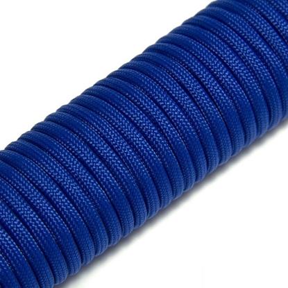 """Паракорд 550, синий""""Blue"""" (4 мм), 30 метров"""