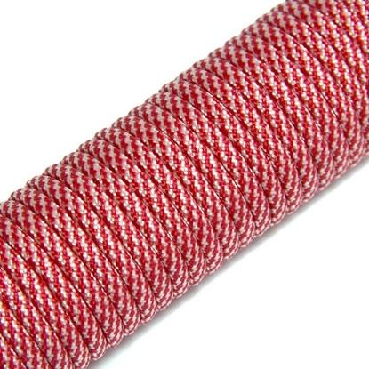 "Паракорд 550, красный+белый ""Red+white"" (4 мм), 30 метров"