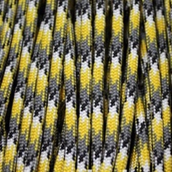 Паракорд 550,  желто-серый камуфляж Yellow grey camo (4 мм), 30 метров