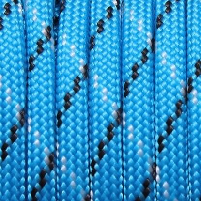 "Паракорд 550,  небесно синий камуфляж ""Sky blue camo"" (4 мм), 30 метров"